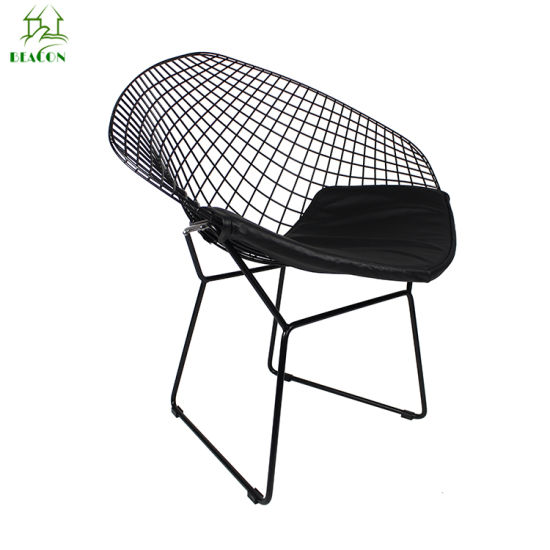 Wholesale Manufacture Diamond Shape Metal Wire Chair Outdoor pictures & photos