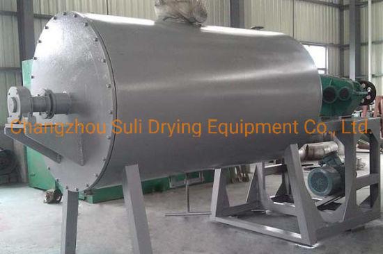 Zpg Series Vacuum Harrow Sludge Chemical Material Paddle Dryer Machine