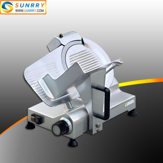 Table Stainless Fresh Meat Slicer Machine Cutting with Ce Approved