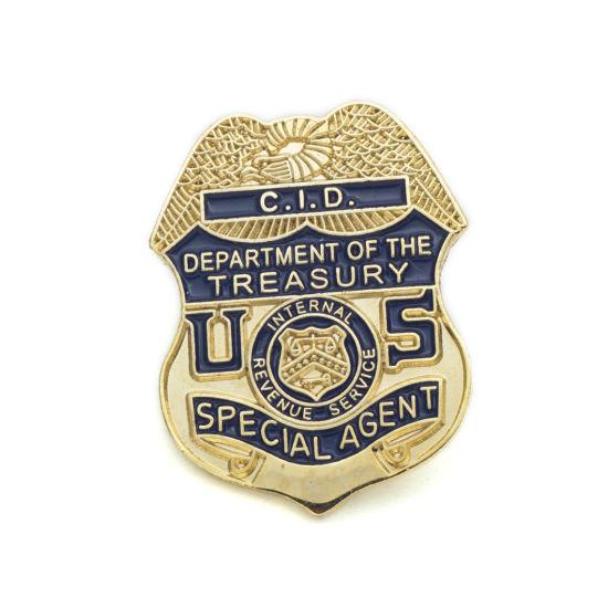 High Quality Custom Made Metal Soft Enamel Police Lapel Pin