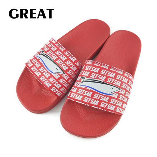 Greatshoe New Arrived Adult Slipper Custom Blank Slide Sandal Sport Shipper Footwear Slide Sandal