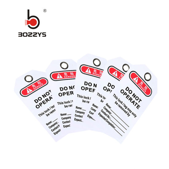 PVC General Safety Tag (BD-P02)