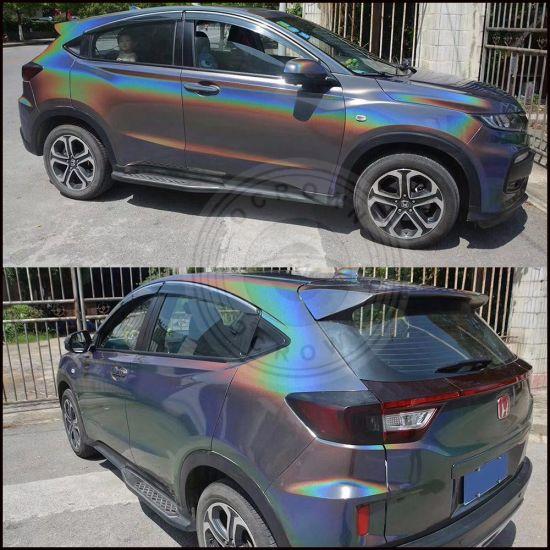 China Shiny Laser Holographic Powder Rainbow Holo Chrome