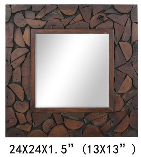 Home Decoration Items High Quality Customized Wood Mirror Frame