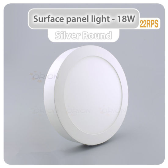 Ultra-Slim 6W, 12W, 18W, 24W Surface Mounted LED Panel Light pictures & photos