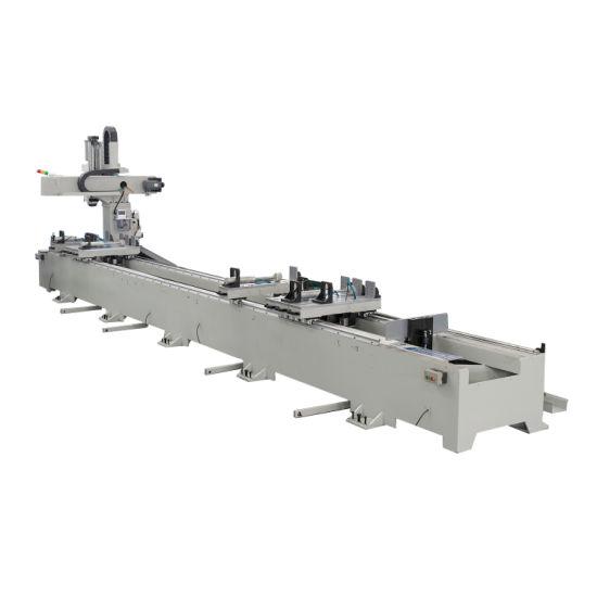 Factory Direct Sale Low Price Aluminium Window Door Facade Curtain Wall Making CNC Milling Machine Center