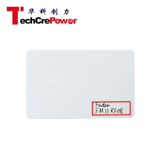 High Quality 13.56MHz Card RFID Fudan FM11RF08 Thin Smart Cards pictures & photos