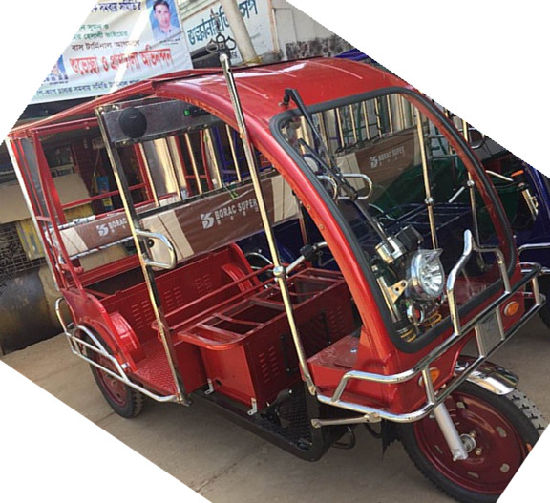 The Cheap Bengal Electric Tricycle for Passenger