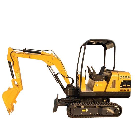 Multifunctional Small Crawler Orchard Excavator
