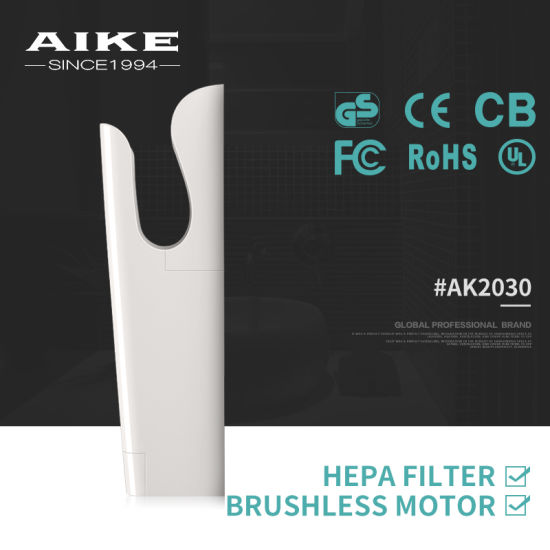 Hygiene Products Bathroom Hand Dryer Fast Speed Airblade Hand Dryer (AK2030) pictures & photos