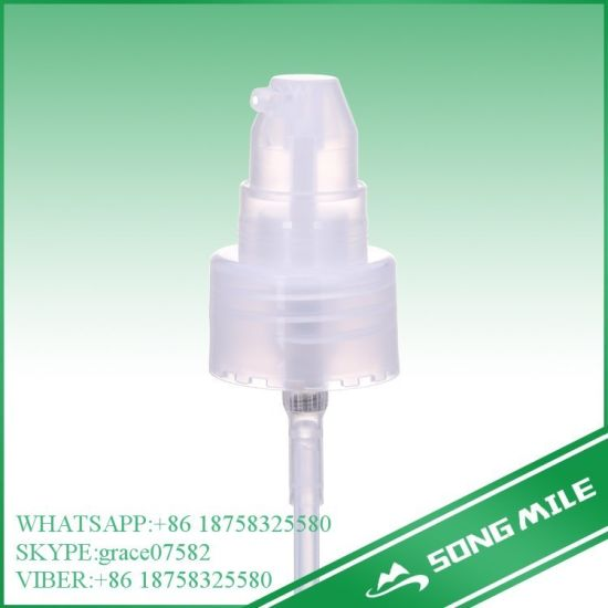 24/415 PP White Factory Direct Cream Pump for Cosmetic pictures & photos