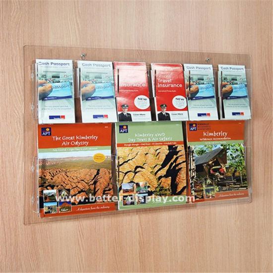 Custom Clear Wall Mounted Acrylic Display Box