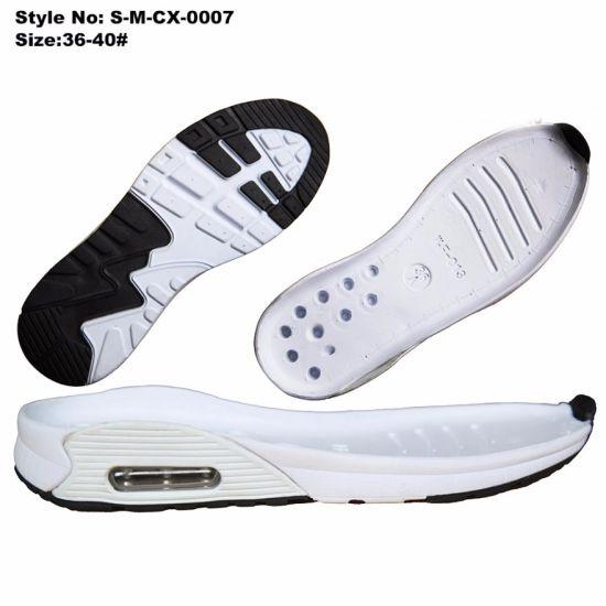 Air Cushion Eva Tpr Outsole Dark Blue Sole For Sports Shoes