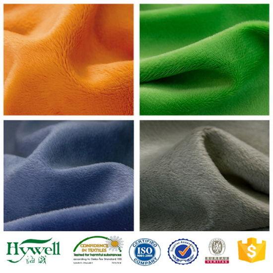China Supplier Plush Toy Velboa Fabric