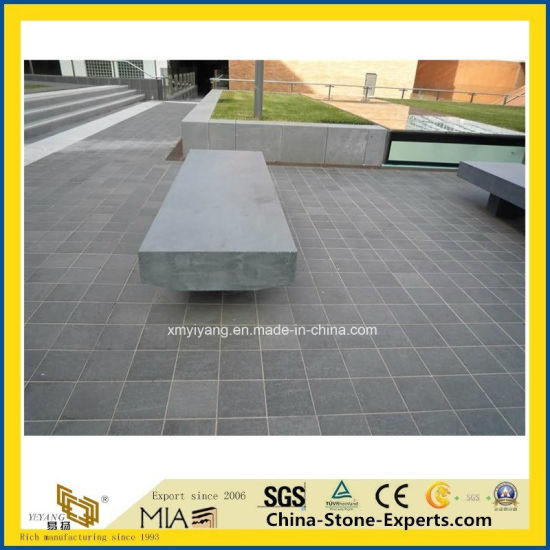 Natural Dark Grey/Black Honed/Polished/Bluestone/Andesite/Stone/Hainan/Mongolia/G684/Granite Basalt for Coping/Kerbstone/Paver/Wall Tiles pictures & photos