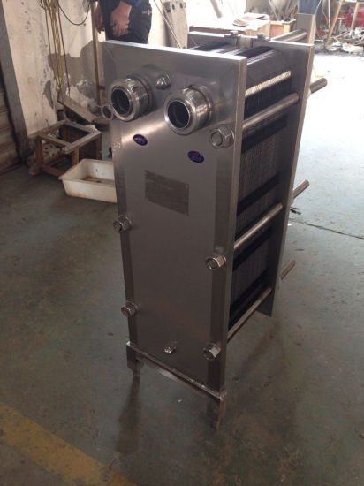 Milk Plate Pasteurizer Plate Cooler Plate Heat Exchanger pictures & photos