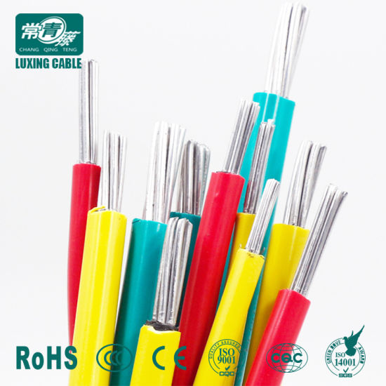 China Aluminum Wire Price/ 4 Sq mm Aluminum Core PVC Insulated Wire ...