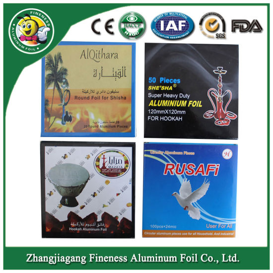 Hookah Shisha Aluminum Foil with Color Box Packing pictures & photos