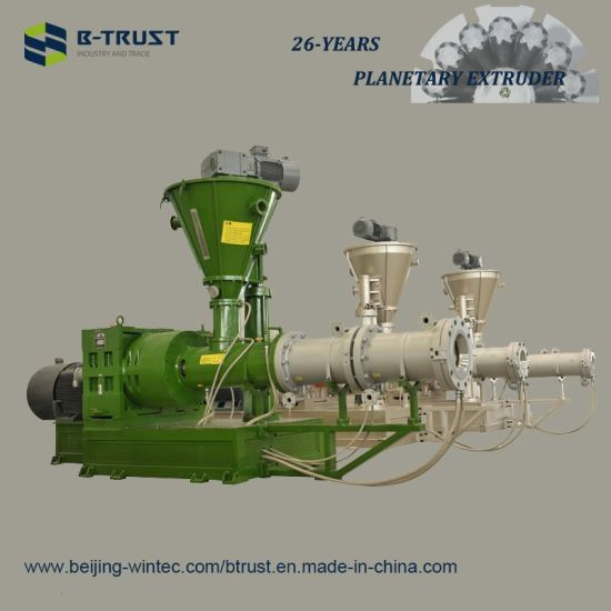 China Btrust Planetary Extruder for Europe Calendering Line