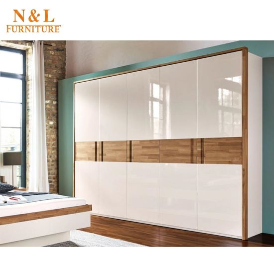 N U0026 L Simple Design Wooden Wardrobes With Sliding Door