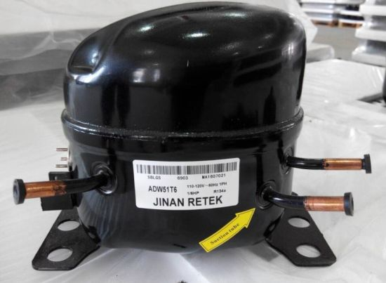 R134A, R600A, R406A Lbp/Mbp Refrigerator Common Type AC Compressor pictures & photos