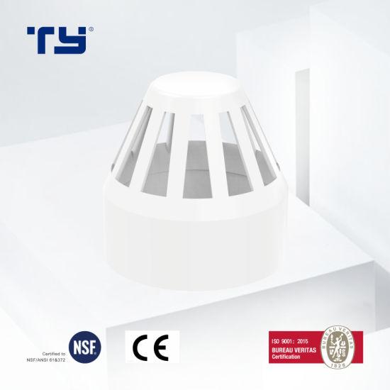 PVC Plastic Drainage Pipe Tube Fitting Vent Cowl ASTM D2665 Tianyan OEM