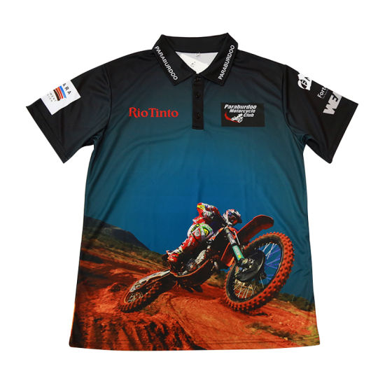 Sublimation Mens Polo Custom Wholesale Cheap Polo Shirt pictures & photos