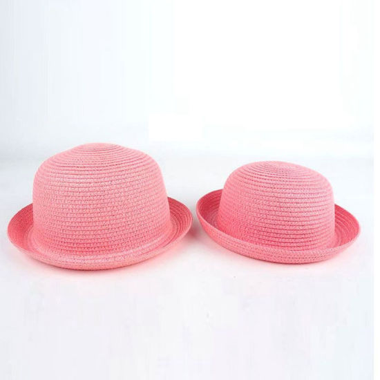 2fa70db1df01f Wholesale Custom Lady Raffia Paper Boater Floppy Straw Hat Panama Summer  Beach Sun Hats for Women. Get Latest Price