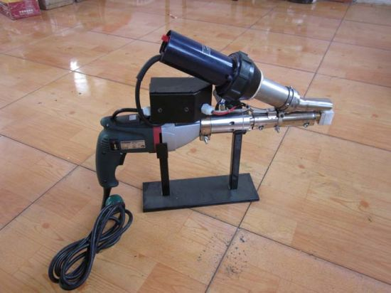 Heating Power 3400W Tsd Hand Plastic Extruder with Simple Operation pictures & photos