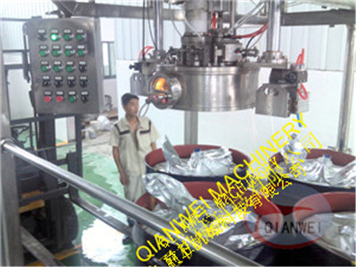 Double Head Aseptic Bag in Drum Filling Machine pictures & photos