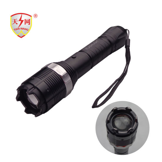 Aluminum Electric Police Equipment with Flashlight (TW-8810) Stun Guns pictures & photos