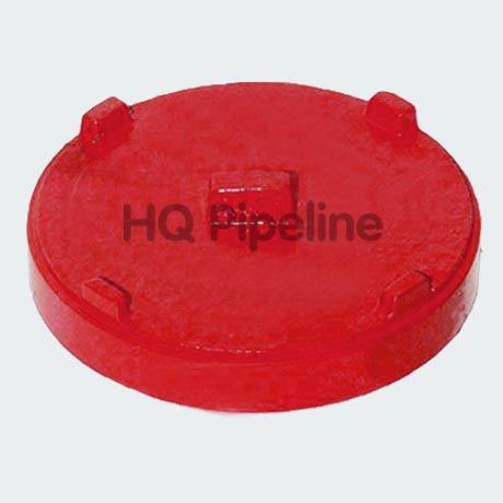 Ductile Iron Grooved Pipe Fitting - Cap pictures & photos