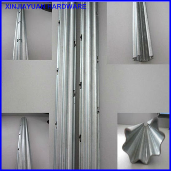 Q235 Vineyard Grape Stakes / Grape Post Height 3m with High Zinc Coated pictures & photos