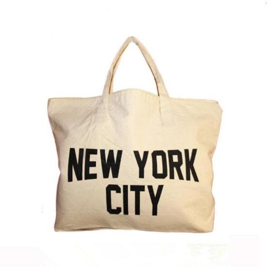 Promotional Cheap Wholesale Logo Print Recycle Durable Fabric Organic  Calico White Custom Cotton Canvas Shopping Tote Bag 145da65f7096