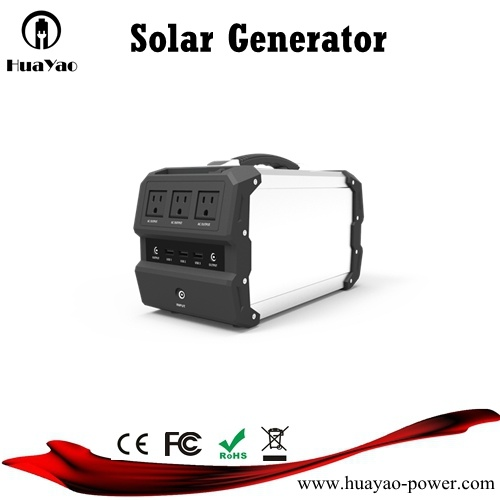 Lightweight Power Bank Solar Generator Solar Charger with Solar Panel