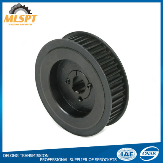 Steel Material Timing Pulley with Blacken Treatment pictures & photos