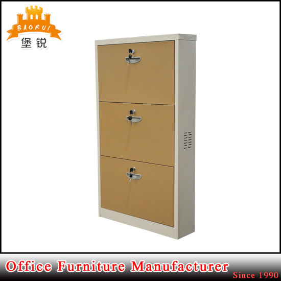 Wholesale Steel Furniture Metal Shoes Storage Rack Shoe Locker Cabinet pictures & photos