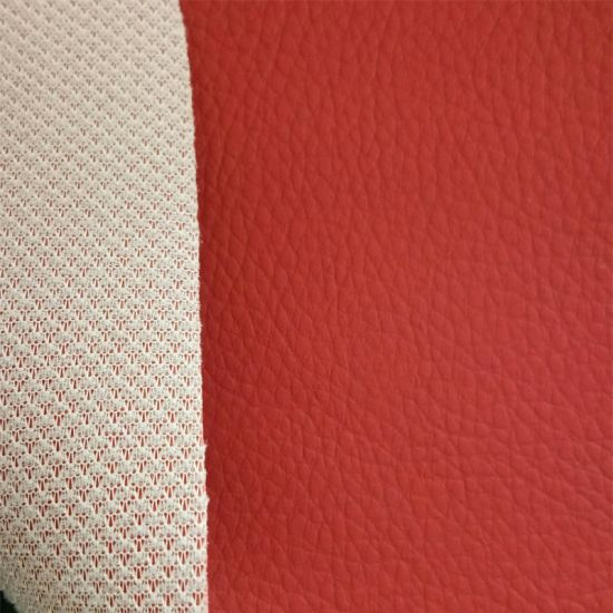 New Design Stock Lot Factory Price PVC Synthetic Leather