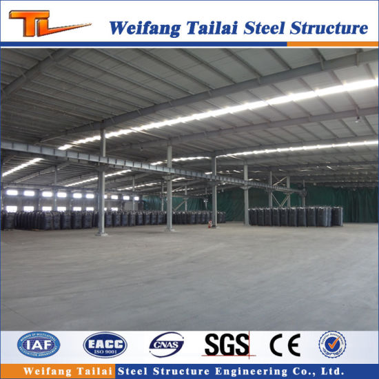 Prefab Steel Structure Warehouse / Workshop / Construction Building with Best Price pictures & photos