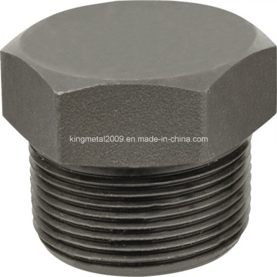 High Pressure Carbon Steel Forged Fitting A105 Square Head Plug pictures & photos