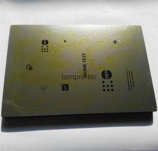 Polished Finish Thick/ Thin Pad Printing Machine Steel Plate