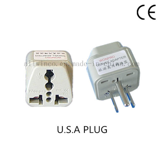 USA Travel Plug Adapter with Universal Socket pictures & photos