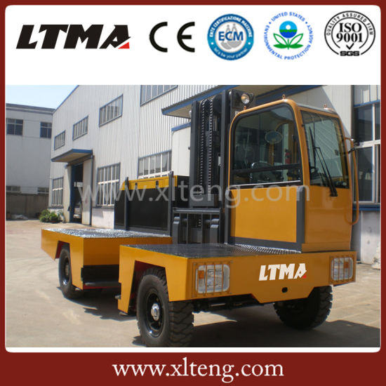 China 10t Side Loader Forklift Price pictures & photos