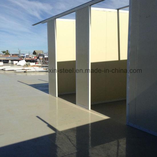 Australia Fast Install EPS Sandwich Panel Steel Building Prefab House