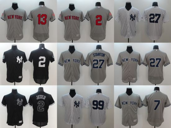 the latest b98a8 fda56 China Customized New York Yankees Stanton Baseball Jerseys ...