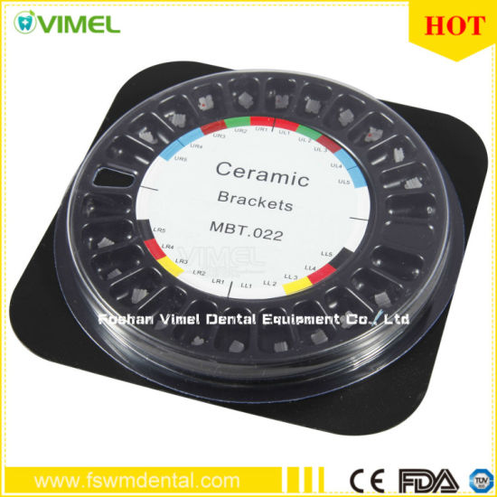 Mbt 0.022 Dental Materials Orthodontic Ceramic Brackets Products pictures & photos