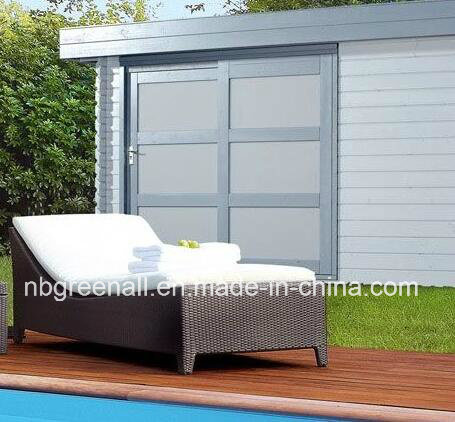 Wicker Aluminum Outdoor Rattan Beach Used Lounge Leisure Furniture pictures & photos