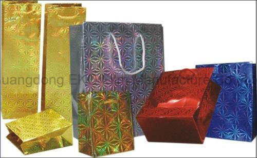Lens Pattern Holographic Film for Luxury Box pictures & photos