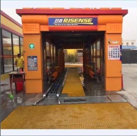 Risense Tunnel Automatic Car Wash Machine Cleaning Systems with Dryer