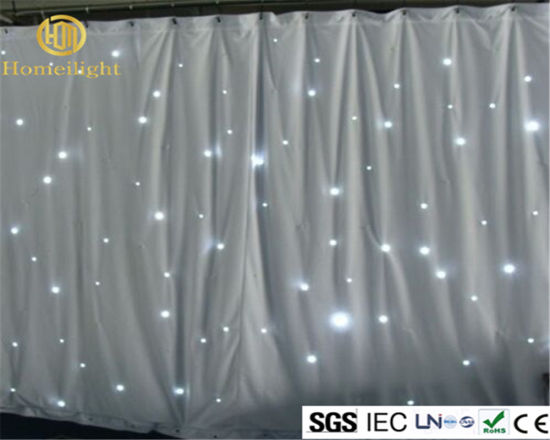 China dmx wedding stage dj decoration led star curtain cloth dmx wedding stage dj decoration led star curtain cloth lighting junglespirit Gallery